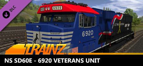 Trainz 2019 DLC: NS SD60E - 6920 Veterans Unit
