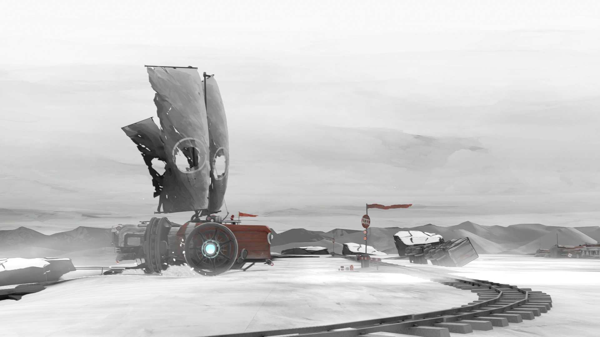 FAR: Lone Sails screenshot 1