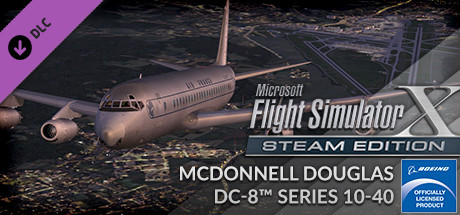 FSX Steam Edition: McDonnell Douglas DC-8™ Series 10 - 40 Add-On