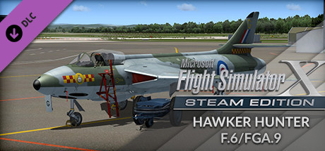 FSX Steam Edition: Hawker Hunter F.6/FGA.9 Add-On