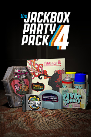 The Jackbox Party Pack 4 poster image on Steam Backlog