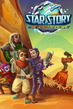 Star Story: The Horizon Escape poster image on Steam Backlog