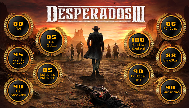 Desperados Iii On Steam