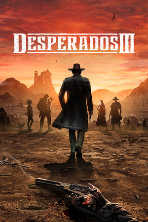 Desperados III poster image on Steam Backlog