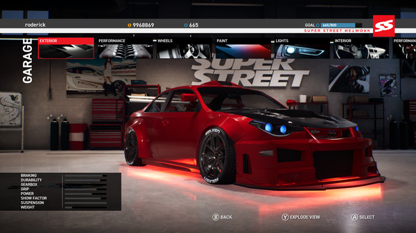Скриншот из Super Street: The Game