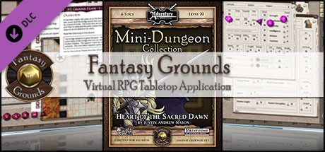 Fantasy Grounds - Mini-Dungeon #029: Heart of the Sacred Dawn (PFRPG)
