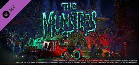 Planet Coaster - The Munsters® Munster Koach Construction Kit