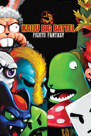 Kaiju Big Battel: Fighto Fantasy poster image on Steam Backlog