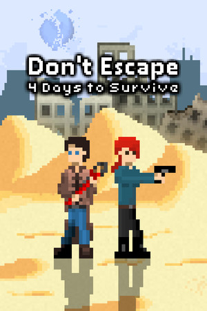 Don't Escape: 4 Days to Survive poster image on Steam Backlog