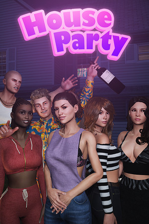 House Party poster image on Steam Backlog
