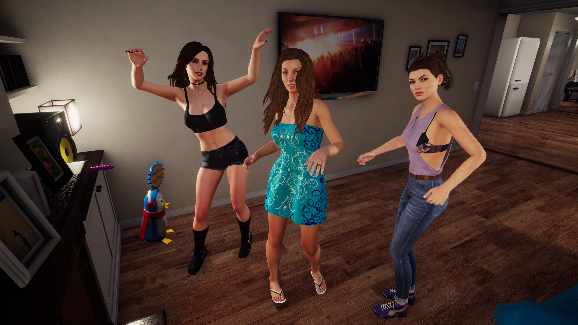 Naked party gams review