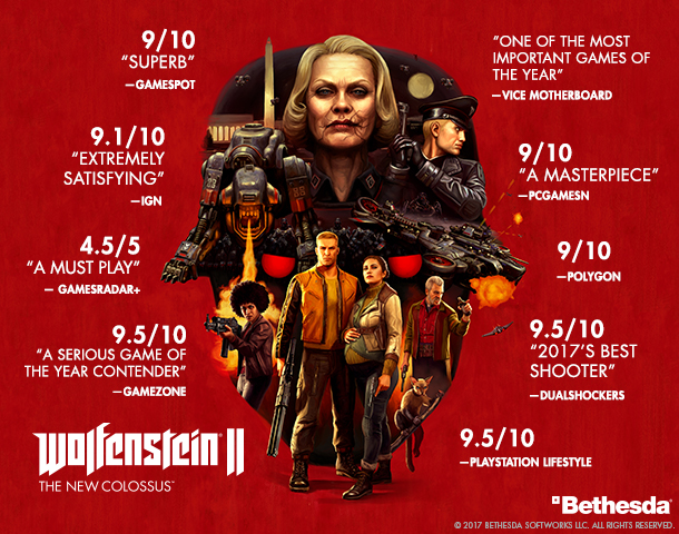 , Wolfenstein II: The New Colossus, P2Gamer