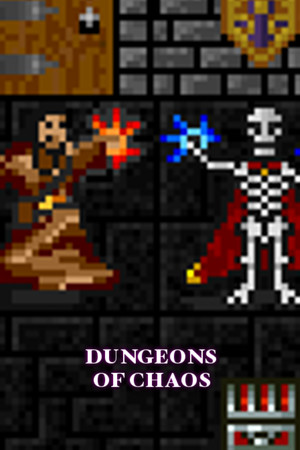DUNGEONS OF CHAOS poster image on Steam Backlog
