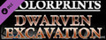 Fantasy Grounds - 0one's Colorprints #7: Dwarven Excavation (Map Pack)