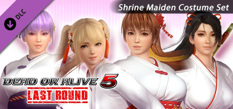 DOA5LR Shrine Maiden Costume Set