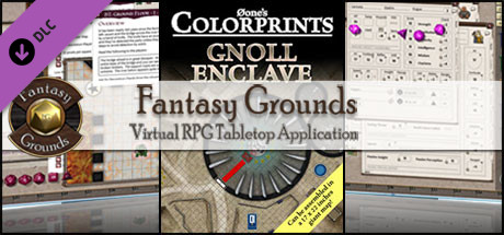 Fantasy Grounds - 0one's Colorprints #8: Gnoll Enclave (Map Pack)
