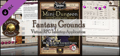 Fantasy Grounds - Mini-Dungeon #029: Heart of the Sacred Dawn (5E)