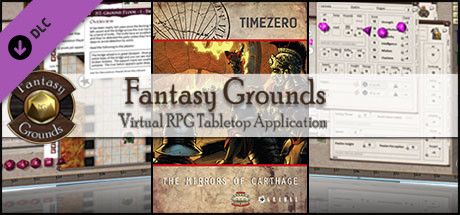 Fantasy Grounds - TIMEZERO: The Mirrors of Carthage (Savage Worlds)