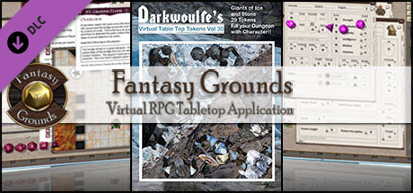 Fantasy Grounds - Darkwoulfe's Volume 30 - Giants of Ice and Stone (Token Pack)