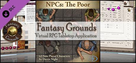 Fantasy Grounds - NPCs: The Poor (Token Pack)