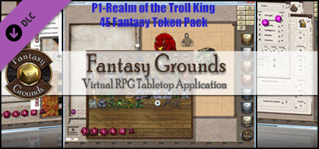 Fantasy Grounds - P1-Realm of the Troll King 4E Fantasy (Token Pack)
