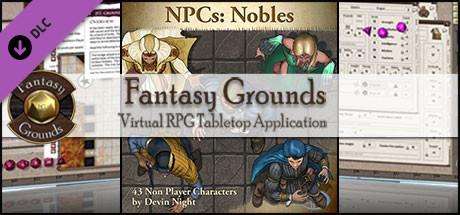 Fantasy Grounds - NPCs: Nobles (Token Pack)