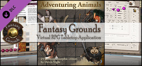 Fantasy Grounds - Adventuring Animals (Token Pack)