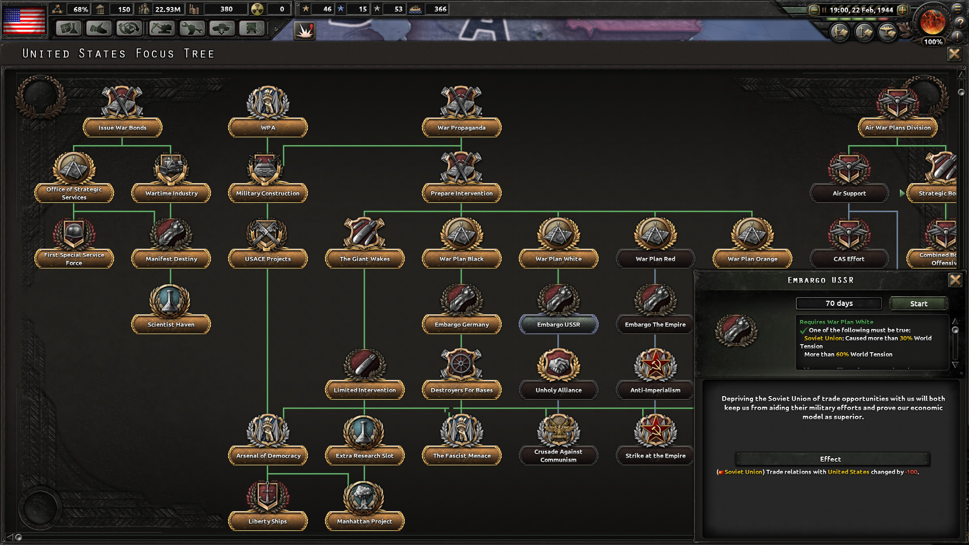 Hearts of Iron IV: Colonel Edition Upgrade Pack · AppID: 616200