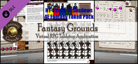 Fantasy Grounds - H1-Castle of Shadows 4E Fantasy (Token Pack)
