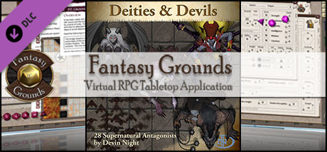 Fantasy Grounds - Deities & Devils (Token Pack)