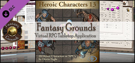 Fantasy Grounds - Heroic Characters 13 (Token Pack)