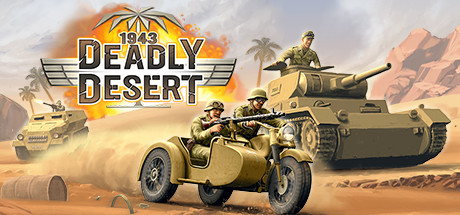 Game Banner 1943 Deadly Desert