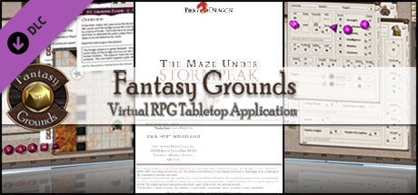 Fantasy Grounds - H2-The Maze Under Stormpeak 4E Fantasy (Token Pack)