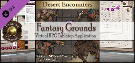 Fantasy Grounds - Desert Encounters (Token Pack)