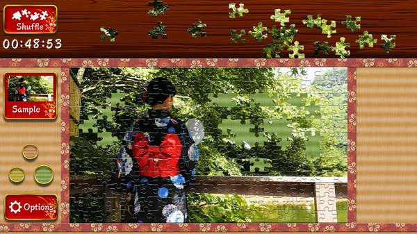 Japanese Women - Animated Jigsaws 5