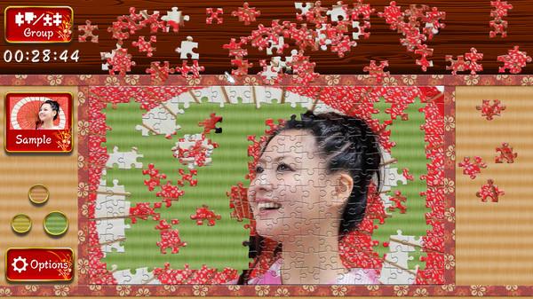 Japanese Women - Animated Jigsaws 1