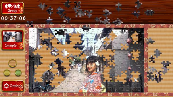 Japanese Women - Animated Jigsaws 4