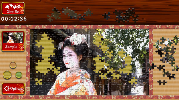 Japanese Women - Animated Jigsaws 2