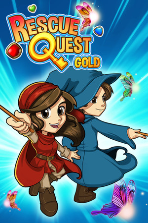 Rescue Quest Gold poster image on Steam Backlog