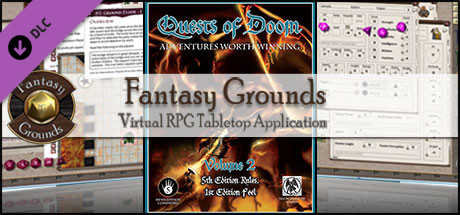 Fantasy Grounds - Quests of Doom 2 (5E)