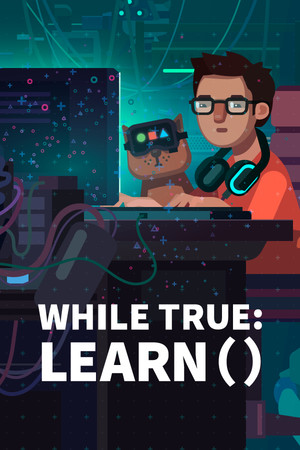 while True: learn() poster image on Steam Backlog