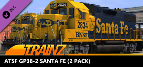 Trainz 2019 DLC: ATSF GP38-2 Santa FE (2 Pack)