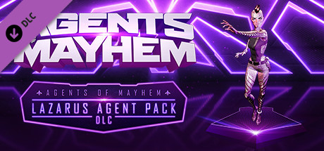 Agents of Mayhem Lazarus Agent Pack