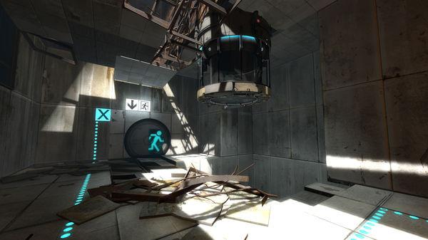 Скриншот из Portal 2