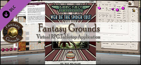 Fantasy Grounds - Daring Tales of Adventure #02 - Web of the Spider Cult (Savage Worlds)