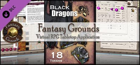 Fantasy Grounds - Black Dragons (Token Pack)