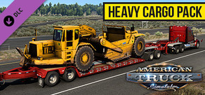 American Truck Simulator - Heavy Cargo Pack cover art