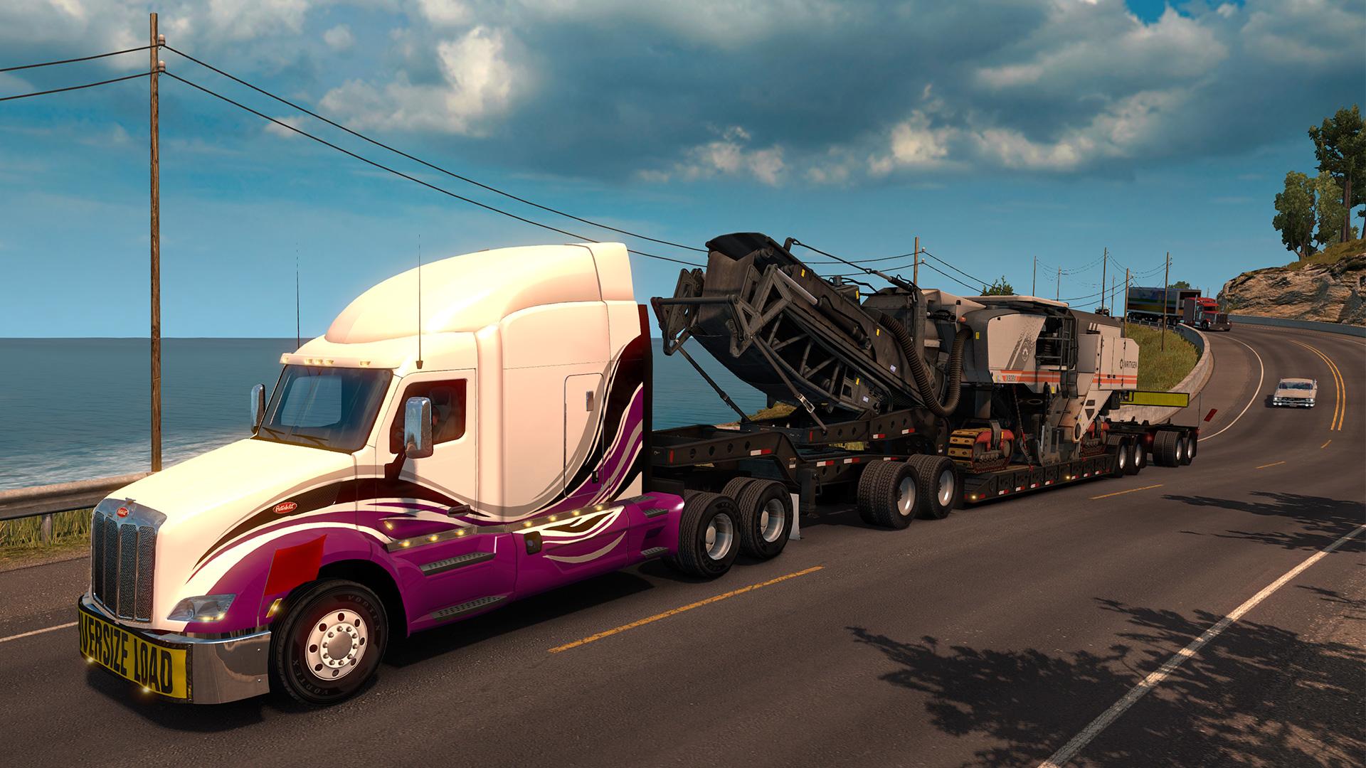 american truck simulator heavy cargo pack on steam. Black Bedroom Furniture Sets. Home Design Ideas