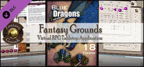 Fantasy Grounds - Blue Dragons (Token Pack)
