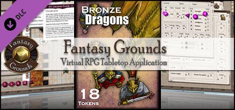 Fantasy Grounds - Bronze Dragons (Token Pack)